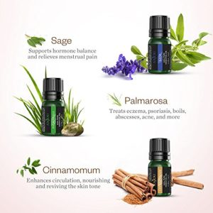 Anjou Essential Oils Set Top 9 Pack 100% Pure Aromatherapy Oil Kit, Include Lavender, Bergamot, Sage, Grapefruit, Palmarosa, Cinnamomum and More_5e1e7487e55ad.jpeg