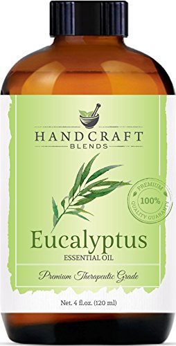 Handcraft Eucalyptus Essential Oil – 100 Percent Pure and Natural – Premium Therapeutic Grade with Premium Glass Dropper – Huge 4 oz_5e28fce345afe.jpeg