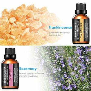 URPOWER Essential Oils Top 8 Aromatherapy Essential Oils 100% Pure Therapeutic Grade Essential Oils Set Lavender/Peppermint/Tea Tree/Orange/Eucalyptus/Lemongrass/Frankincense/Rosemary_5e18f6a8ce969.jpeg